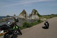 七浦海岸 夫婦岩