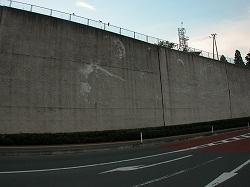 未来都市銀河地球鉄道壁画