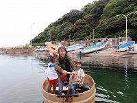 小木港 たらい舟