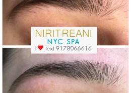 Niritreani Eyebrow Tinting