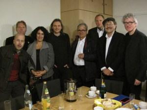 Robert, Günther, Nirit, Jens Nüssle, der wunderbare Techniker von der theaterspinnerei, Martin, Pit, Andi und Georg
