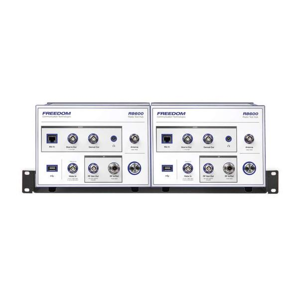 Astronics Freedom R8600 configured in a rack mount