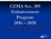 LMCP Section 309 Enhancement Program (Nov 2014)
