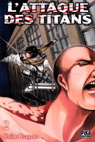 BD manga - l'attaque des titans tome 2 - hajime Isayama