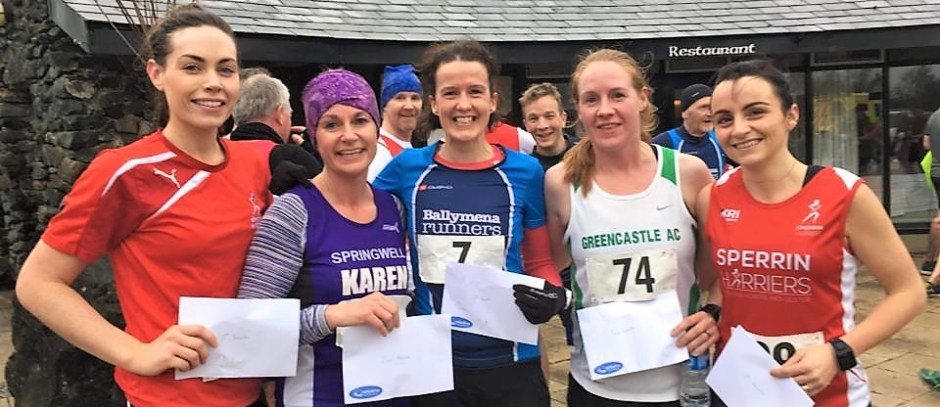 Jason Wilson and Gillian Wasson complete impressive double for Ballymena Runners at An Creagan 5 mile Trail Race!