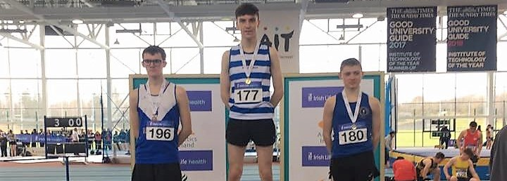 Local trio pick up gold medals at AAI National Juvenile Indoor Championships!