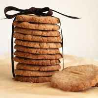 Almond, Buckwheat and Cardamom Cookies