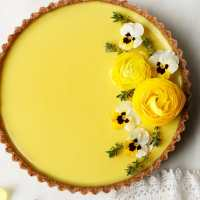 Pineapple Lime Coconut Tart (vegan & grain-free)