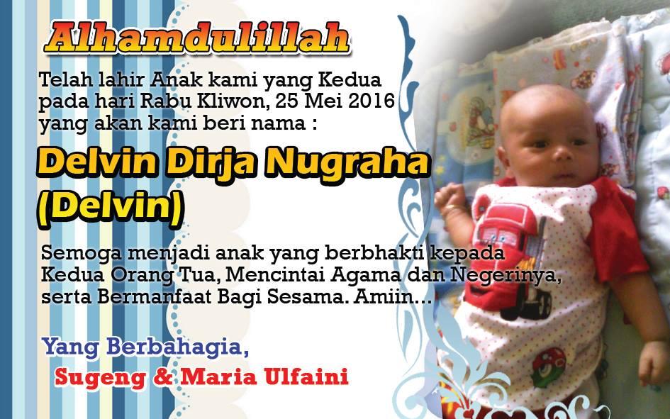 Cetak Kartu Nama Bayi Aqiqah Murah Nirwana Digital Print