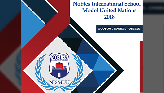 NISMUN Annual 2nd Conference 2018: Registration