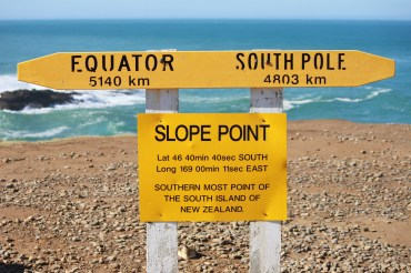 Southern Scenic Route - Slope Point