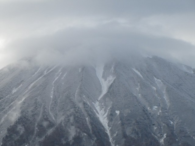Mt Yotei early season snow