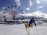 Gabriele Nicotra visiting Sapporo Teine