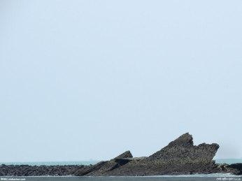 প্রবাল পাথরের পাথুরে খাঁড়া দেয়াল (ছবি: নিশাচর)