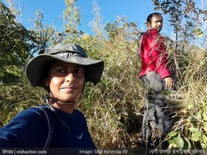 অসাধ্য সাধন করেছেন কোরেশী - প্রথম চূড়ার পথে দল (সেলফি: ইতি আপু)