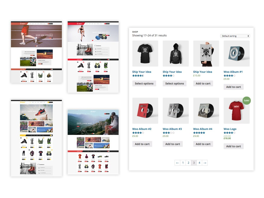 eCommerce Themes and Responsive WooCommerce