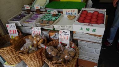 新鮮で美味しそうな野菜と果物
