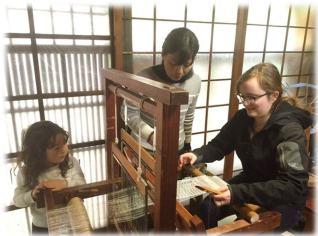 上京デザインウィークにおける工房体験