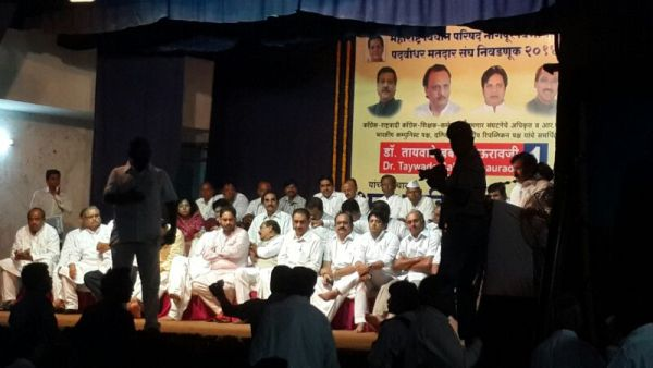 Babanrao Taywade election campaign 2014 -1