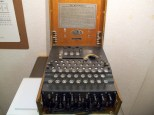 Enigma machine, in public use