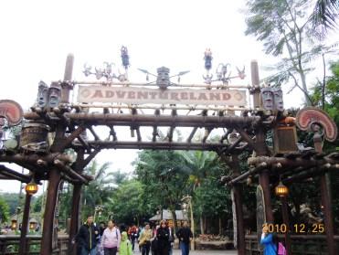 Entering Adventureland!