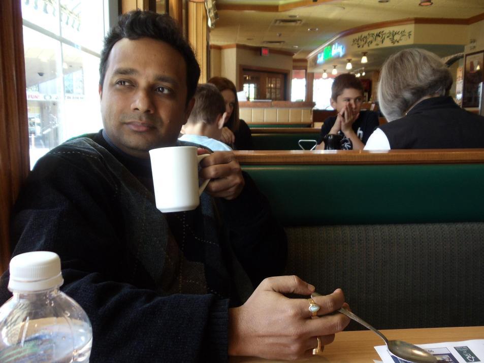 The author Sudipto Das