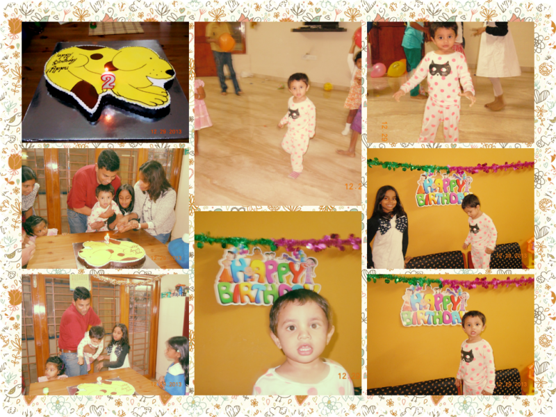 Piglet's 2nd birthday bash was a simple and sweet affair (just like Piglet himself)
