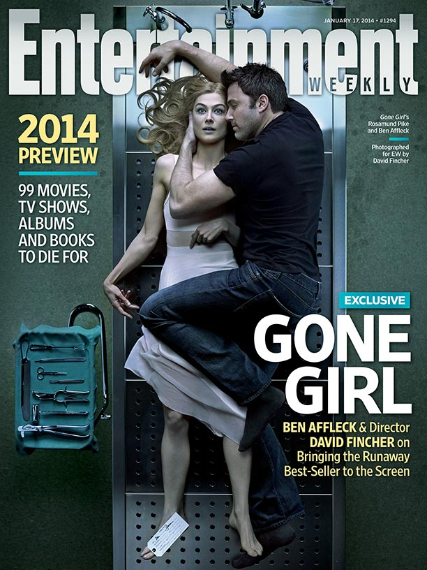 Entertainment Weekly Movie Cover Featuring the Gone Girl Stars