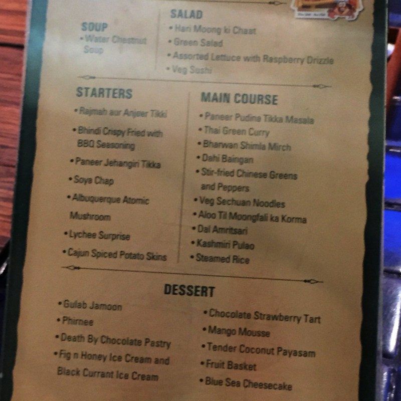 The Extremely Versatile Menu