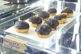 The chocolate lime choux