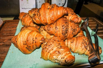 Yummy and healthy croissants