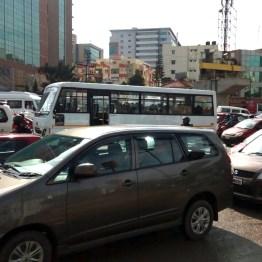 And still more traffic jams