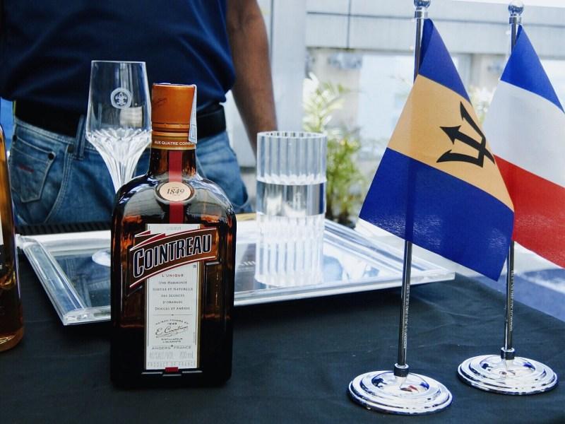 The cointreau liqueur