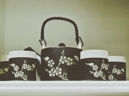 The most beautiful tea set