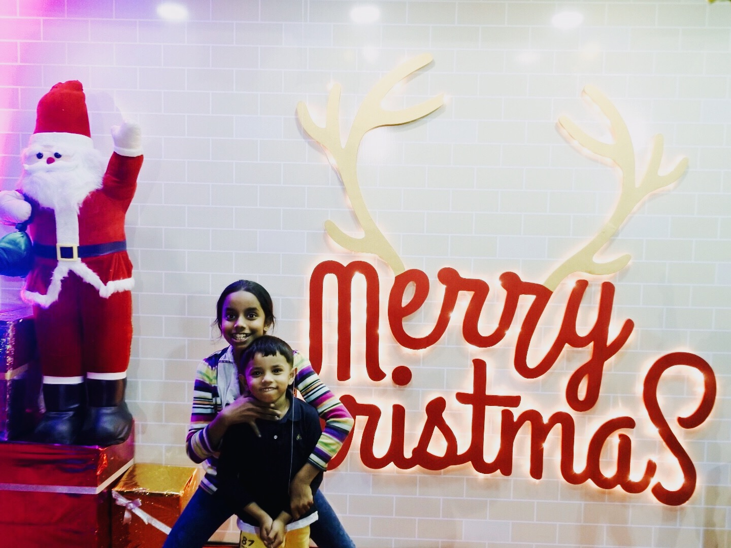 A Christmassy weekend with the kids | Nishita\'s Rants and Raves