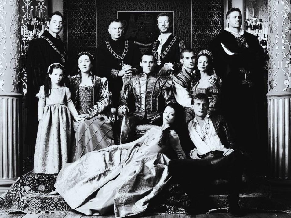 The star cast of The Tudors