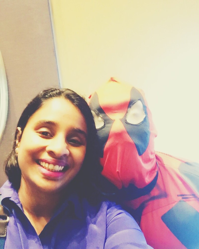 Hanging out with Deadpool