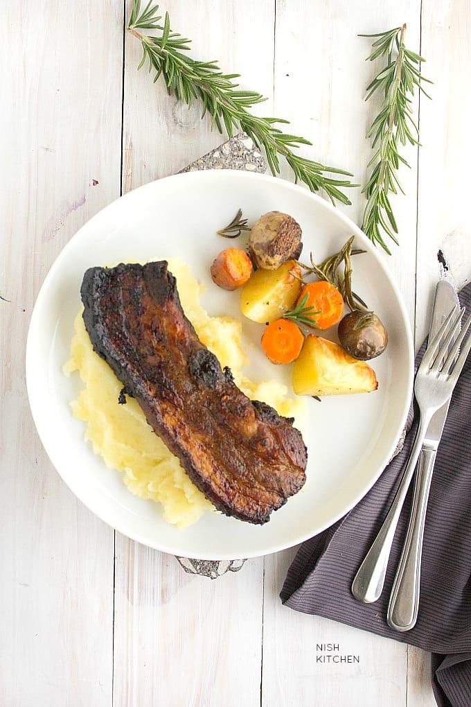 spicy pork spare ribs recipe