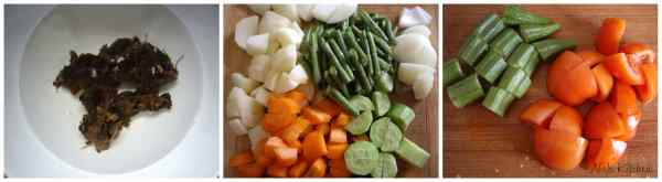 Sambar Ingredients