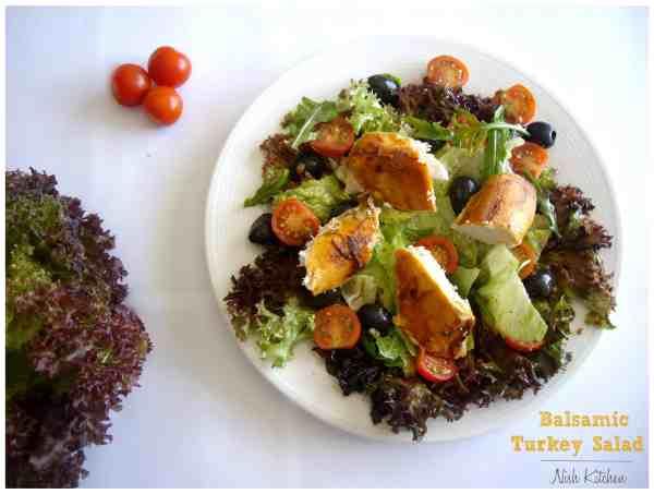 Balsamic Turkey Salad