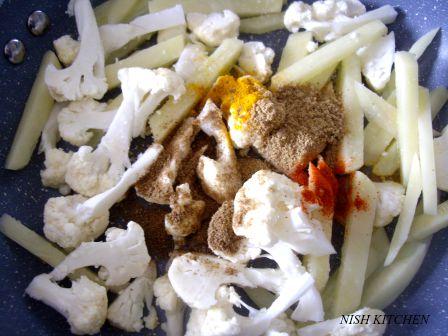 veggie topped kale parathas recipe 2
