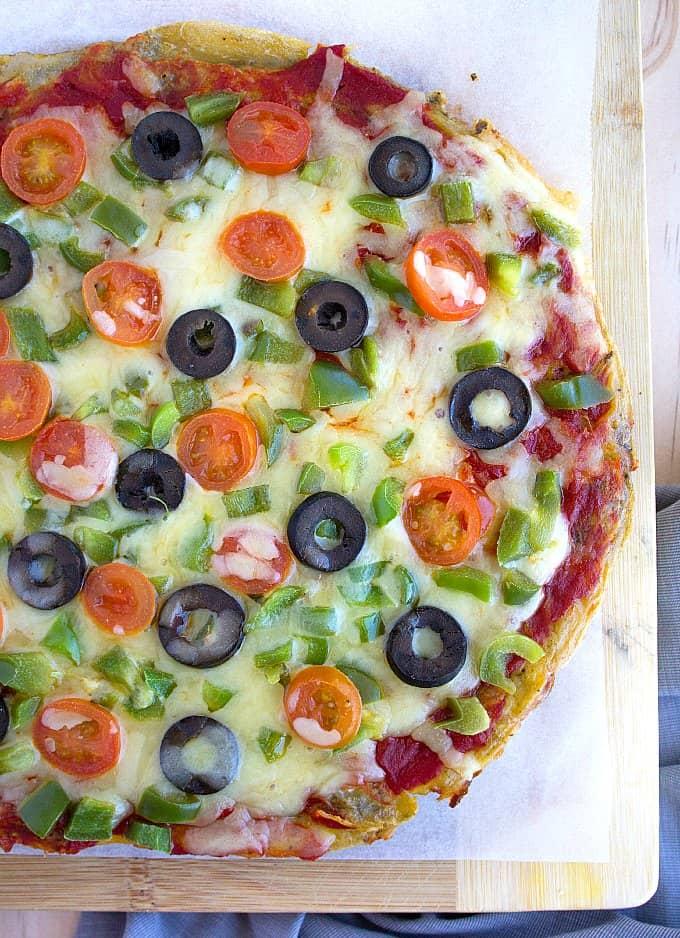 pizza omelet