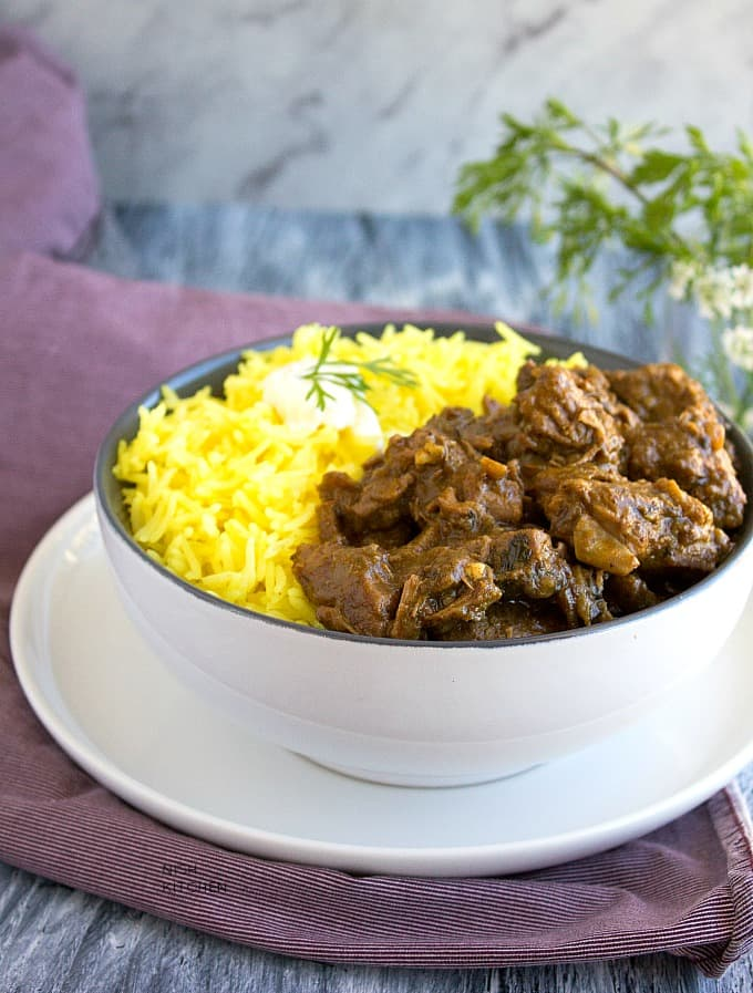 slow cooker indian lamb curry