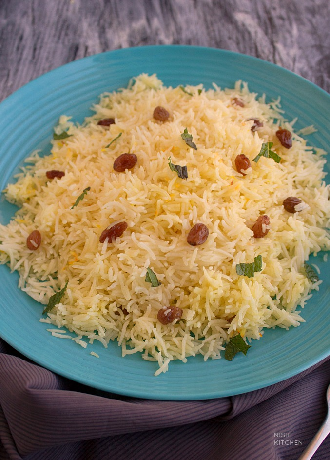 saffron rice recipe video