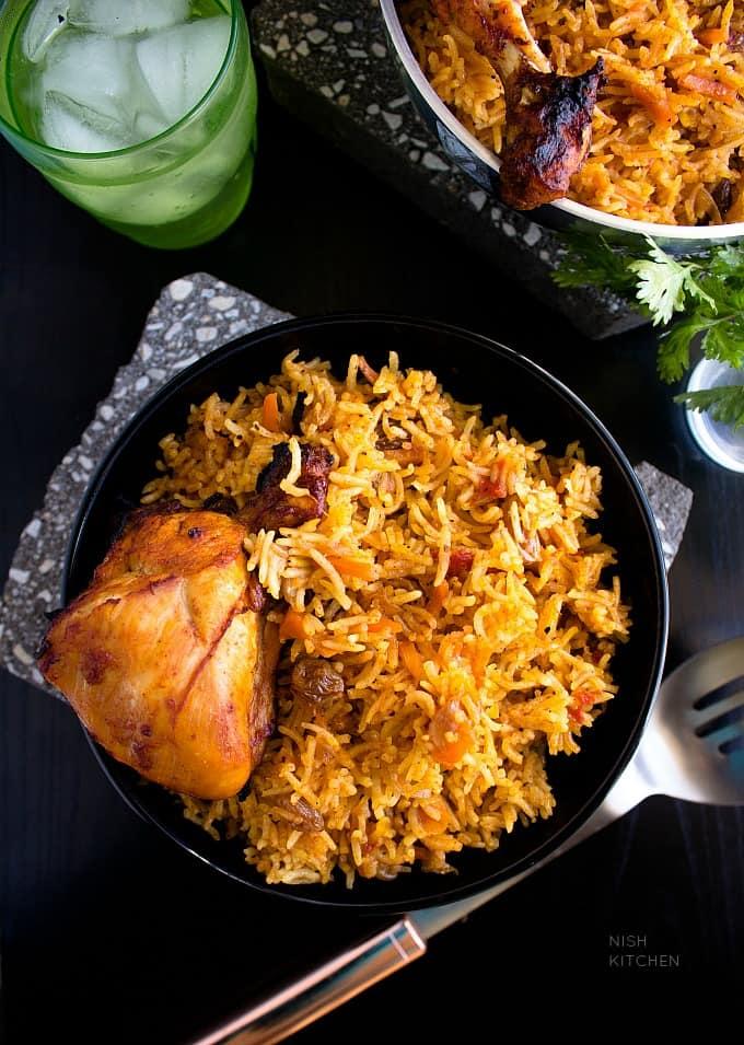 chicken kabsa arabian rice
