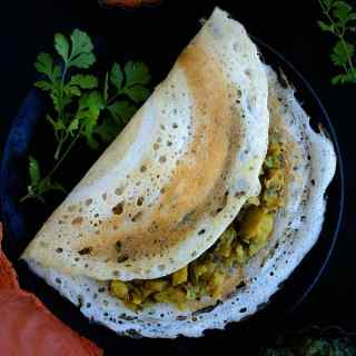 south indian masala dosa recipe video