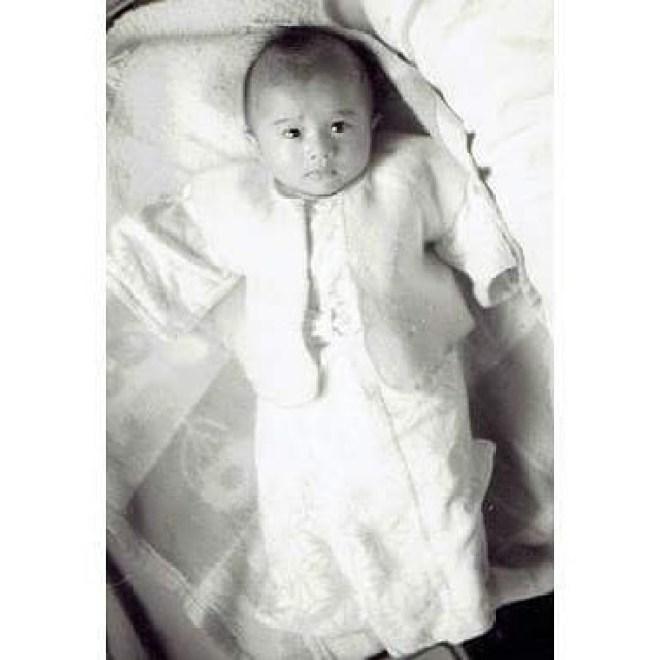 今年、生誕半世紀、偶然古い写真が一部出てきたので、むかしを振り返る特別企画第1弾赤ん坊の私#生誕半世紀 #50才