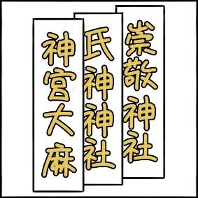 神宮大麻・氏神・崇敬