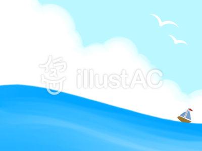 海とヨット
