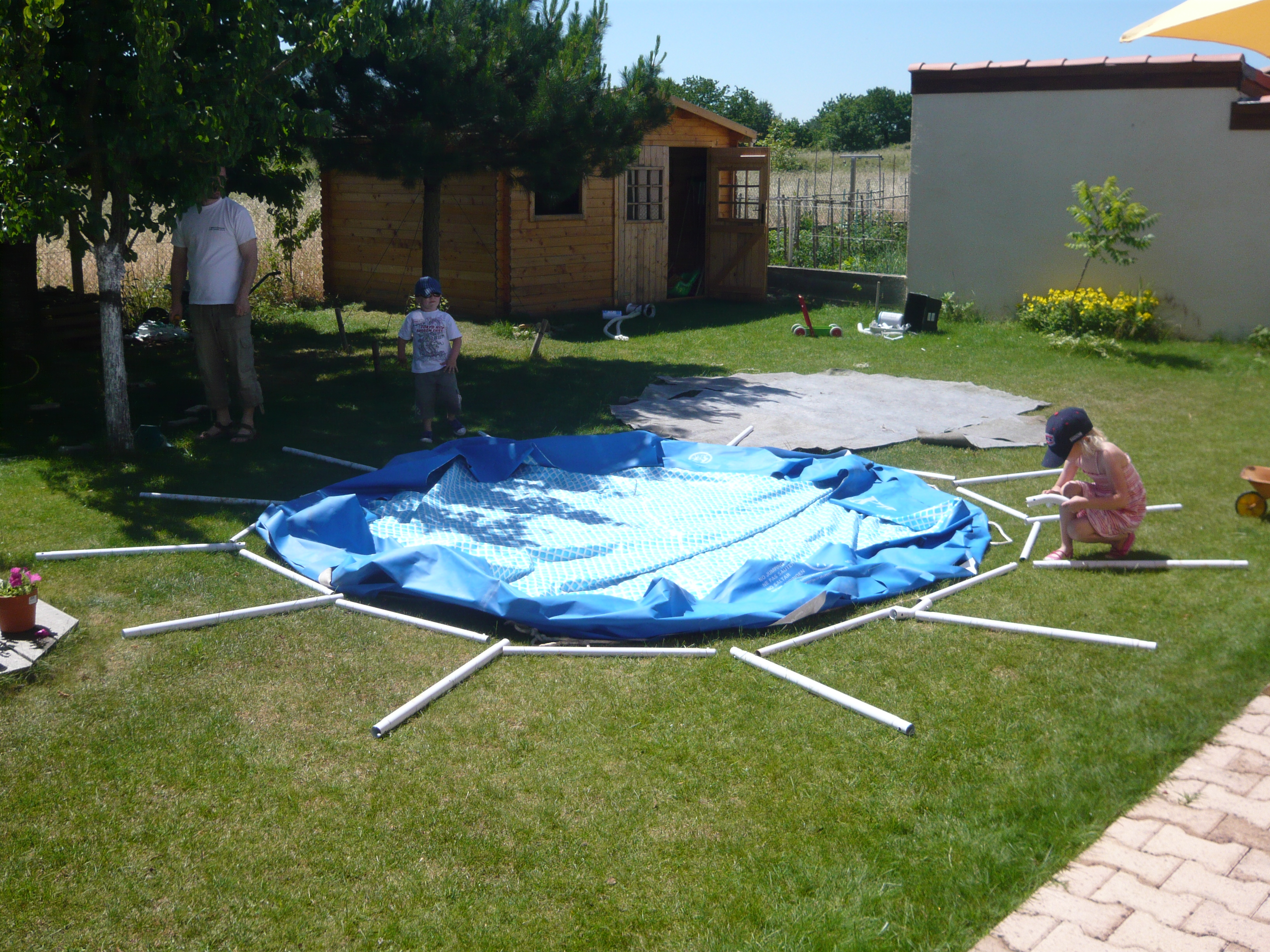 carrefour bache piscine